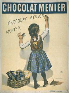 Chocolat Menier, par Firmin Bouisset, 1893