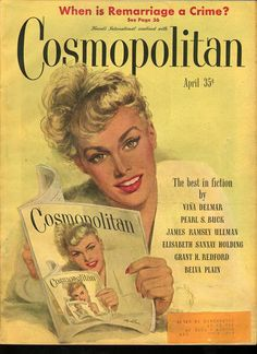 Cosmopolitan magazine, APRIL 1948  Artist: Coby Whitmore