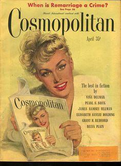 Cosmopolitan magazine, APRIL 1948 Artist: Coby Whitmore