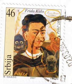 Billedresultat for USA stamps with Frida Kahlo Diego Rivera Frida Kahlo, Frida And Diego, Doll Painting, Encaustic Painting, Frida Art, Postage Stamp Art, Mexican Artists, Mail Art, Stamp Collecting