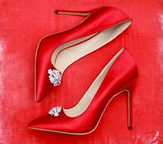 Hot Red Wedding Shoes....
