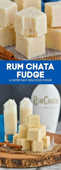 Rum Chata Fudge is such an easy fudge recipe that is perfect for all your favorite grown ups. Creamy and full of delicious cinnamon flavor, this fast treat will be a favorite!