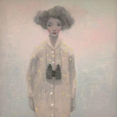 Kristin Vestgard Infinite 30 x 30 cm oil on canvas £ 1500