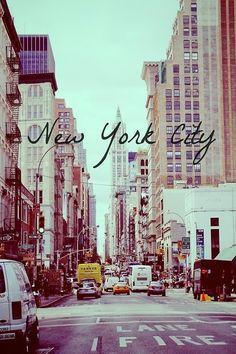 New York City. I love you dearly.