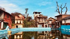 Pragpur Heritage Village Himachal Pradesh - All India Tour Packages Village Inn, Hills And Valleys, Country Walk, Village People, Unique Buildings, India Tour, Travel Companies, Water Systems, Places Of Interest