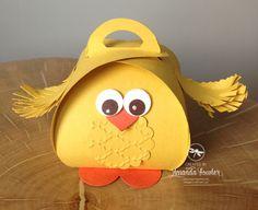 Curvy Keepsake Box Easter Chick video tutorial.