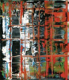Gerhard Richter, 1992, Abstraktes Bild (Abstract Painting), 1992. Oil on canvas. 72cm H x 62cm W. [777-3]