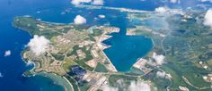 Air Shot of Guam, lived here when I was 3, this is where my father died.