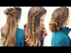 3 Cute Braided Hairstyles | Braided Hairstyles | Braidsandstyles12 - YouTube