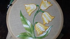 Hand Embroidery | Burden stitch | Stitch and Flower-132