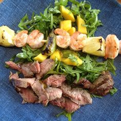 Surf and Turf Spring Salad | Recipes | Beyond Diet