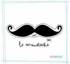 mustache | The mustache-mania has reached the kid's fashion too so let's see ...