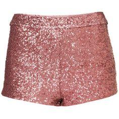 Hot! pink sequin short