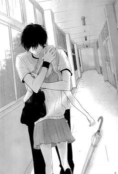 manga, haru matsu bokura, and shoujo image Art Manga, Manga Anime, Sad Anime, Kawaii Anime, Photo Manga, Cute Anime Coupes, Manga Cute, Anime Love Couple, Manga To Read