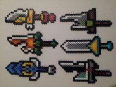 Perler Bead Riven Swords