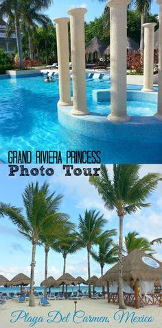 PHOTO TOUR OF THE GRAND RIVIERA PRINCESS (AND LAGUNA VILLAS) | PLAYA DEL CARMEN, RIVIERA MAYA, MEXICO