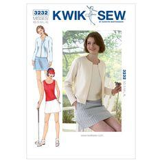 Mccall Pattern K3232 Xs-S-M-L-X-Kwik Sew Pattern