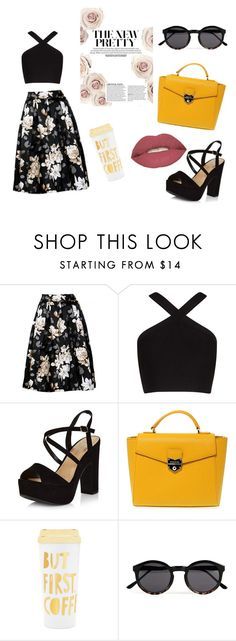 """""""Untitled #5"""" by hanife-dogrul ❤ liked on Polyvore featuring beauty, BCBGMAXAZRIA, New Look, POMIKAKI, ban.do, Topman and Smashbox"""