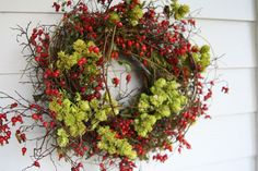 Wreath | met a lady who goes every year just to pick up one of these wreaths ...