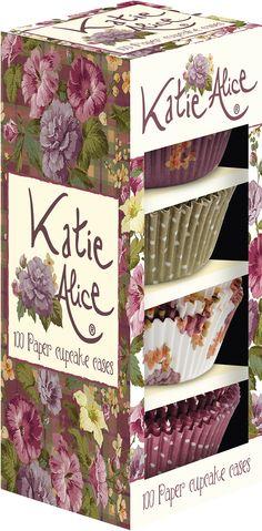 Katie Alice Highland Fling Set of 100 Paper Cupcake Cases