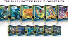 Harry Potter jigsaw puzzle collection.  Original cover art. Super cool!