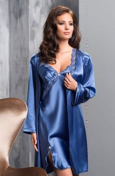 Irall River Dressing Gown irriverdg via Love Temptation. Click on the image to see more!