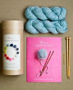 purl soho  | learn to knit kit (purl soho)