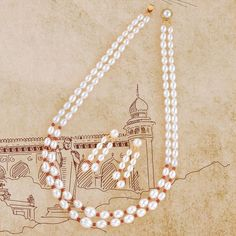 Product Code:JPH1933, Contact us on +91 9248036721. Fresh Water Pearl Necklace crafted using alloy metal & plated in yellow gold with Pearls & Corals look decent in Feminine. #krishnapearls #pearlnecklaces #pearlnecklacesets #necklacesets #pearlsets #pearlstring #necklaces #pearljewellery #pearlset #necklacesetonline #onlineshopping #onlinestore #purepearls #shoppingonline #pearlnecklace #pearlearrings #pearls #freshwaterpearls #freshwaterpearlnecklace #purepearl #naturalpearls Pearl Necklace Set, Pearl Set, Freshwater Pearl Necklaces, Arrow Necklace, Pearl Earrings, Hanging Earrings, Feminine, Corals, Pure Products