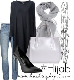 Hijab Fashion Totally my style. To avoid any accidents though, I would choose to walk in platforms instead of the heels. Hijab Fashion Sélection de looks tendances spécial. Hijab Fashion 2016, Modest Fashion, Look Fashion, Fashion Outfits, Womens Fashion, Fashion Trends, Islamic Fashion, Muslim Fashion, Modest Wear
