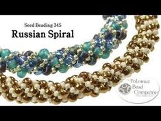 Make a Russian Spiral (Bracelet or Necklace) - YouTube free tutorial from The Potomac Bead Company. Thousands of free tutorials available on www.youtube.com/PotomacBeadCo. Supplies from www.TheBeadCo.com www.potomacbeads.com