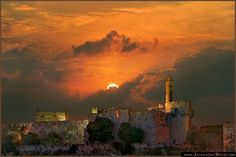 """""""Jerusalem, Jerusalem, Lift up your gates and sing Hosanna in the highest Hosanna to your King!"""""""
