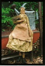 Primitive Garden Angel