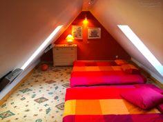 Mansardinis kambarys apartamentuose nidoje
