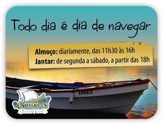 Conheça mais em www.navegantesrestaurante.com.br