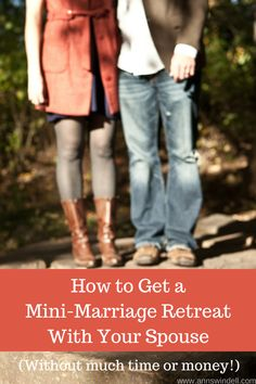 Retreats can breathe life back into a marriage! These are great tips written by a Christian wife and mom.