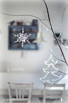 Pourquoi pas d autres motifs avec des perles transparentes sur une partie d un mur ou comme séparation avec une reglette lumineuse dessous ... chambre d un enfant ♥