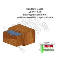 05-wp-179 - Bandsaw Boxes Downloadable Scrollsaw Woodworking Patterns PDF…