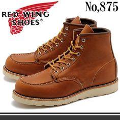 【楽天市場】送料無料 REDWING レッドウィング ブーツ 875 6インチ アイリッシュセッター レッド・ウィング MADE IN USA(RED WING 875 6-INCH BOOT)メンズ(男性用)アウトドア 本革 レザー:Z-CRAFT Red Wing 875, Red Wing Moc Toe, Men's Shoes, Shoe Boots, Red Wing Boots, Mens Boots Fashion, Boots Style, Wedge Boots, Winter Collection
