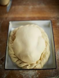 Cooking a whole chicken in a pastry crust will give you the most incredible flavour and beautifully tender results.