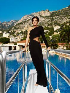 Princess Stephanie of Monaco. Shot by Mario Testino. The cutting of this dress is gorge. Mario Testino, Royal Brides, Royal Weddings, Grace Kelly, Q Photo, Photo Shoot, Estilo Glamour, News Fashion, Monaco Royal Family