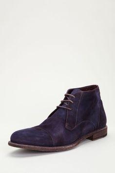 Cole Haan Vincenti Cap Toe Boot purple suede