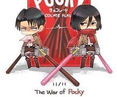 Attack on Titan Pocky