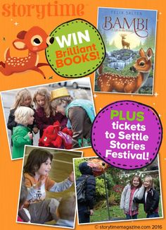 Enter Storytime Issue 18's competition to win tickets to Settle Stories Festival & be a children's radio star! (Closes 09/03/16) Enter at http://www.storytimemagazine.com/win