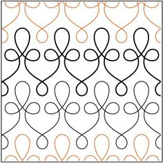 filagree pantograph | Filigree pantograph pattern by Patricia Ritter of Urban Elementz