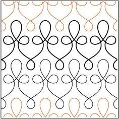Filigree pantograph pattern by Patricia Ritter of Urban Elementz