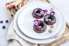 Bezlepkové čučoriedkové donuty