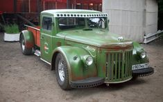 30 of the most unique and bizarre hot rods on the road. You won't believe some of these hot rod modifications. See all 30 of these awesome hot rod. Rat Rod Trucks, Rat Rods, Old Pickup Trucks, Dodge Trucks, Tow Truck, Diesel Trucks, Cool Trucks, Cool Cars, Rat Rod Pickup