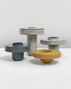 """Shade Vessels by San Francisco–based ceramic artist Ian McDonald. """