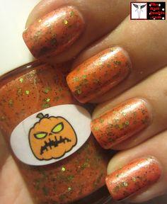 The Nail Junkie - Pumpkin (Halloween 2012 Collection) / TheNailJunkie