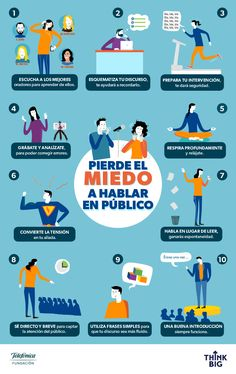 Miedo a hablar en público Business Marketing, Business Tips, Habits Of Mind, Free Seo Tools, Spanish Grammar, School Study Tips, Study Help, Influencer Marketing, Social Skills